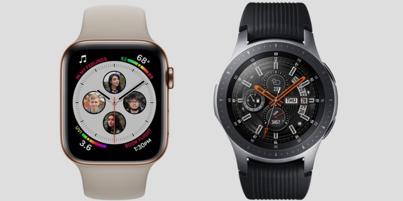 The flagship smartwatches face off