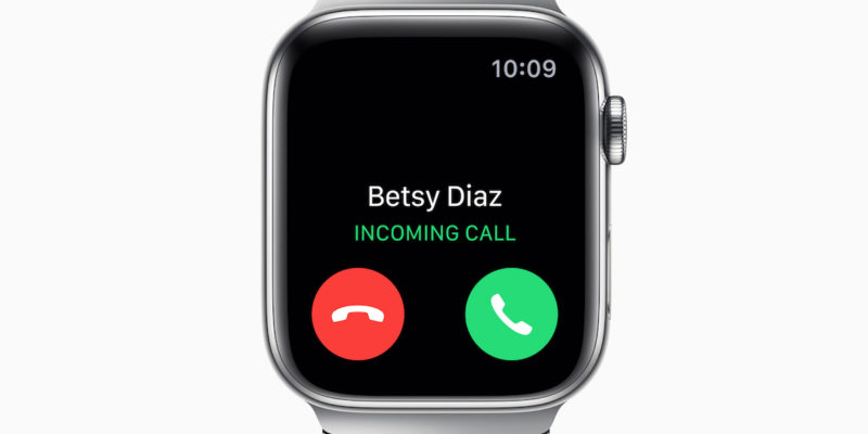 How to make calls on an Apple Watch