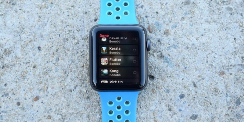How to play music on Apple Watch