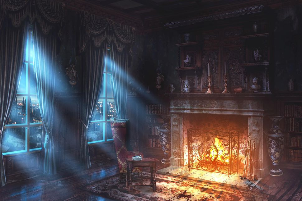 chained-fireplace