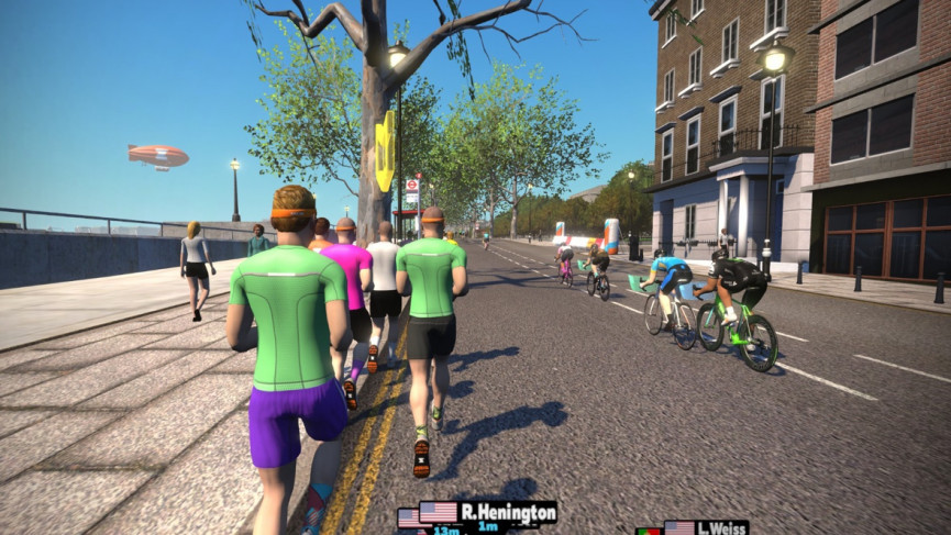 The big race test: Training with Zwift Run to get a half marathon PB
