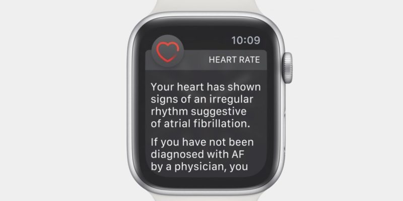 Apple Watch ECG app brings atrial fibrillation detectio...