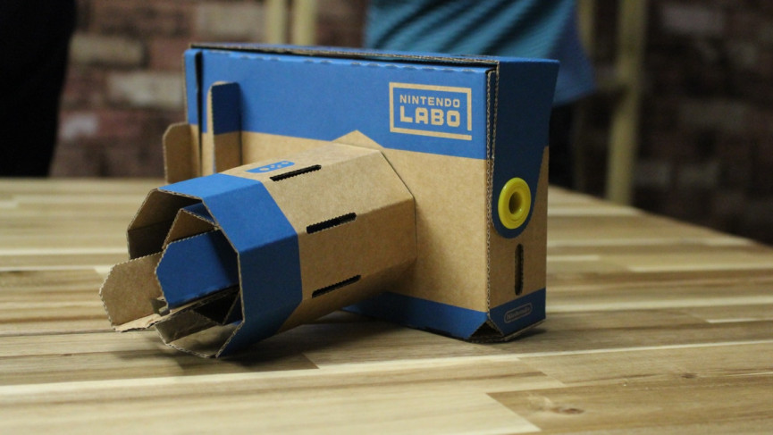 Field of view: Super Mario Odyssey getting Nintendo Labo VR support