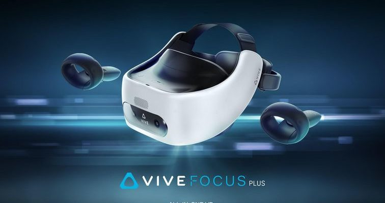 HTC's new Vive Focus Plus VR headset is twice the price...