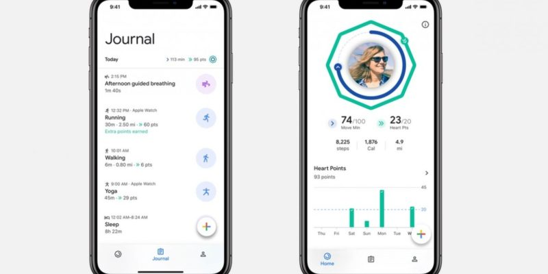 Google Fit is ready to help iPhone owners get in shape