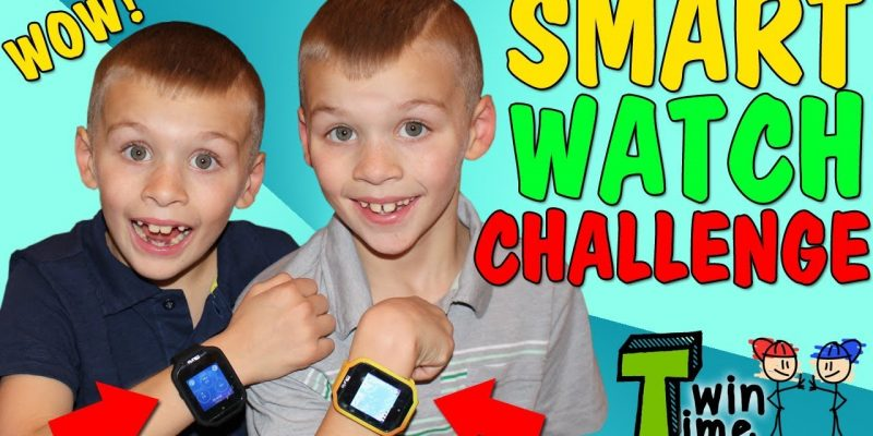 Twins Get First REAL Smart Watches!!