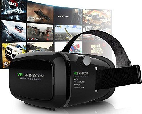 3D VR Headset, Yove 3D Virtual Reality Headset with Adjustab...
