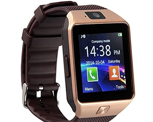 Aosmart Bluetooth Smart Watch with Camera, DZ09 Smartwatch f...