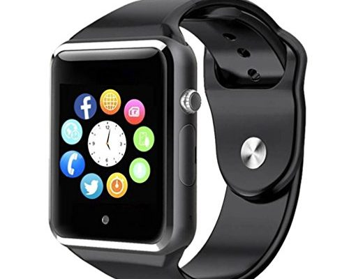 Bluetooth Smart Watch A1 - WJPILIS Touch Screen Smart Wrist ...