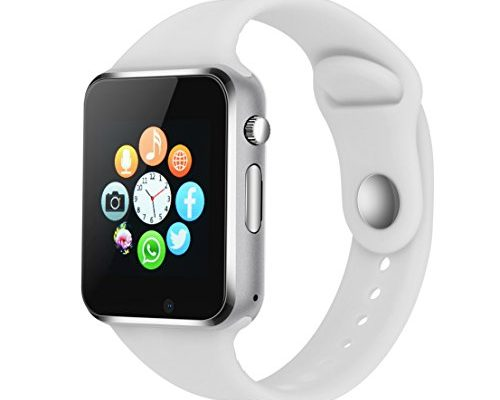 Smart Watch Phone Camera, IOQSOF Touch Screen Smart Wristwat...