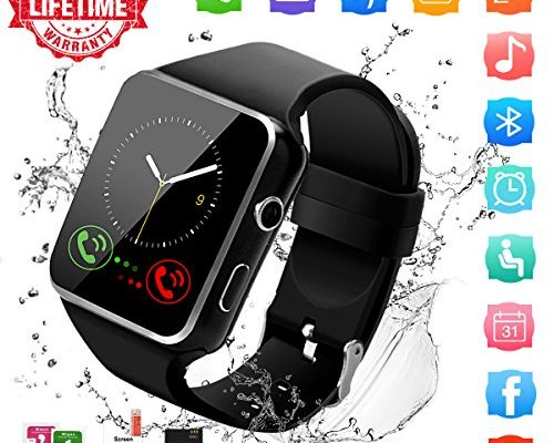 Smart Watch,Bluetooth Smartwatch Touch Screen Wrist Watch wi...