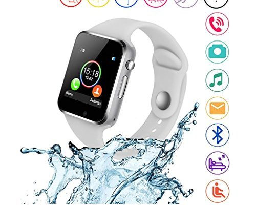 Smart Watches,SUNETLINK Anti-lost Touch Screen Bluetooth Sma...
