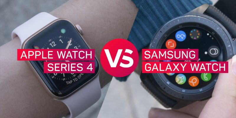 Apple Watch Series 4 vs. Samsung Galaxy Watch: Smartwat...