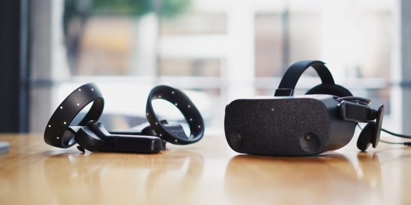 HP's new Reverb VR headset has a lightweight design and...